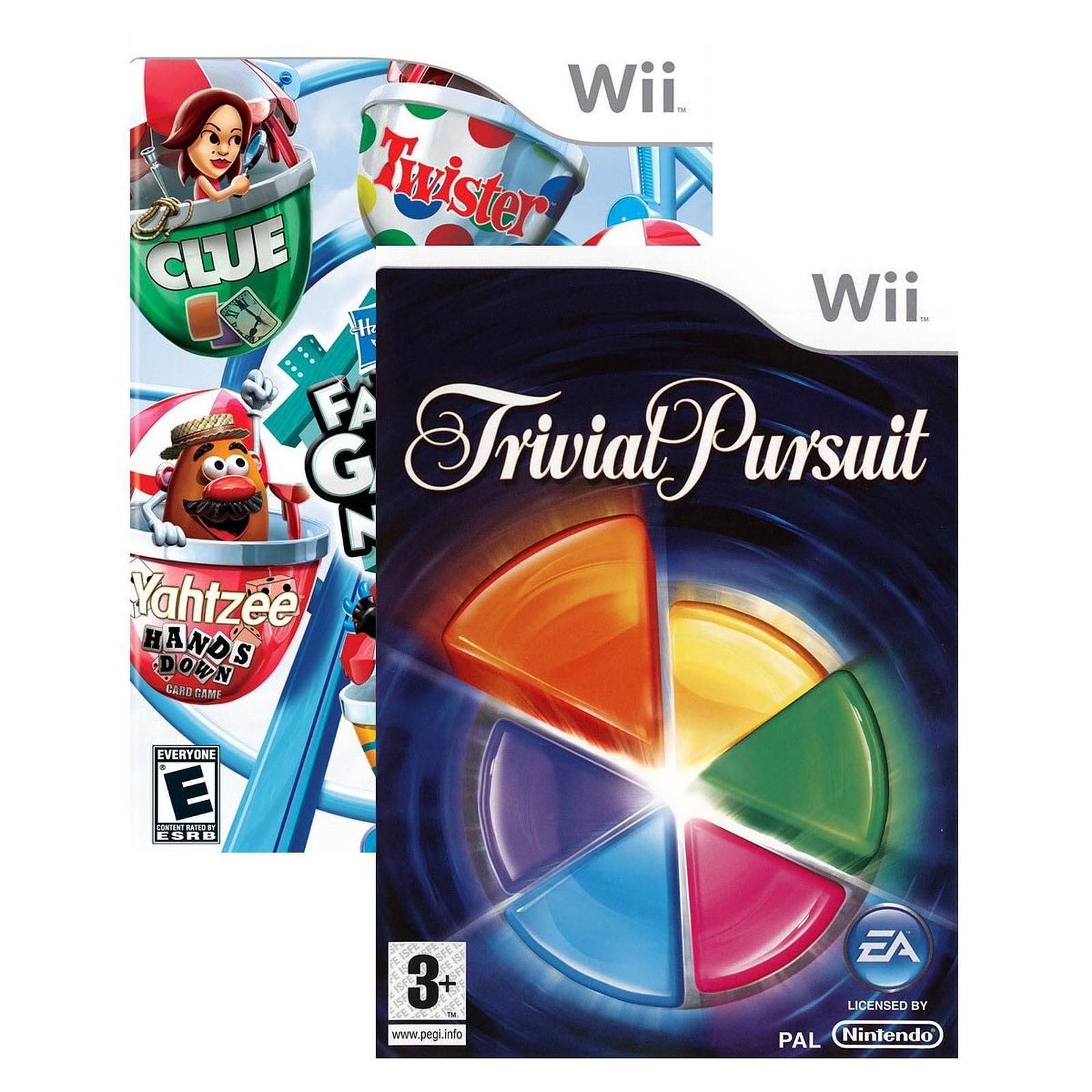 Trivial Pursuit + Ce Soir On Joue En Famille 3 (Wii à Ce Soir On Joue En Famille 3