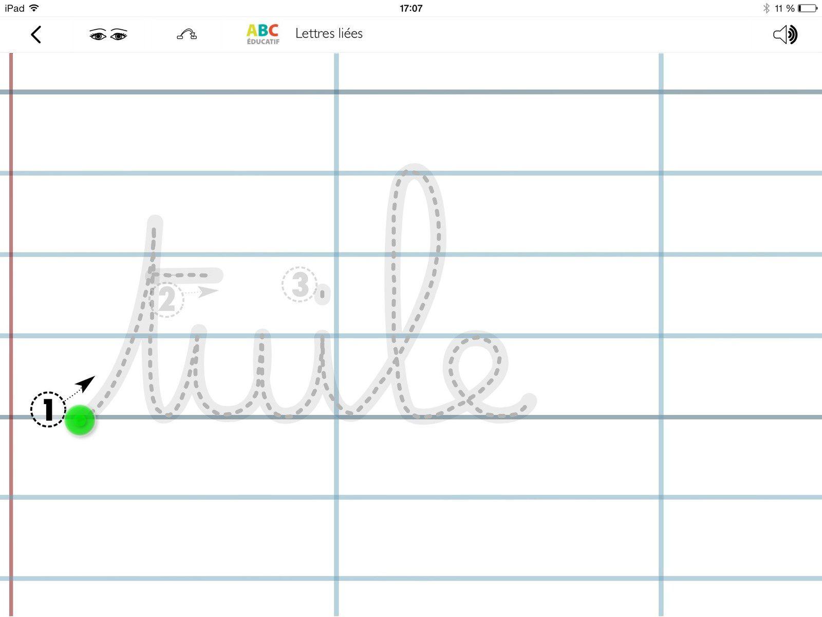 Trois Applis Pour Écrire En Lettres Cursives - Tablettes concernant T Majuscule En Cursive