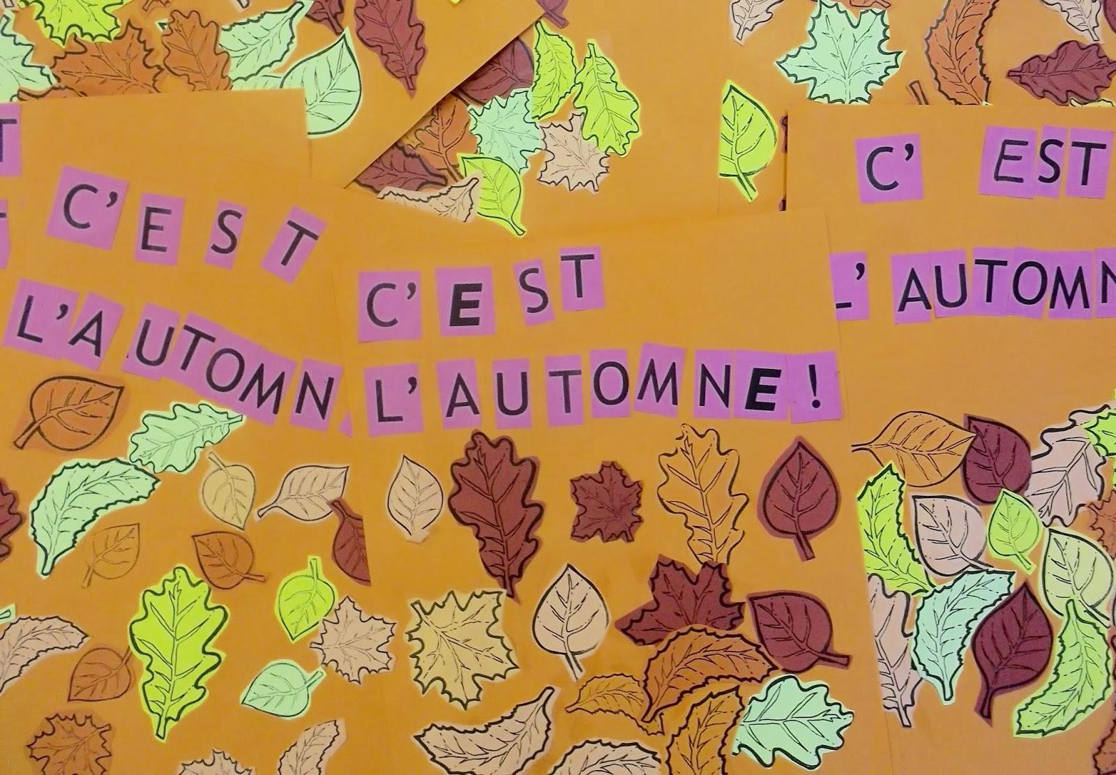 Trois Petits Tours: C'est L'automne! tout Caractéristiques De L Automne