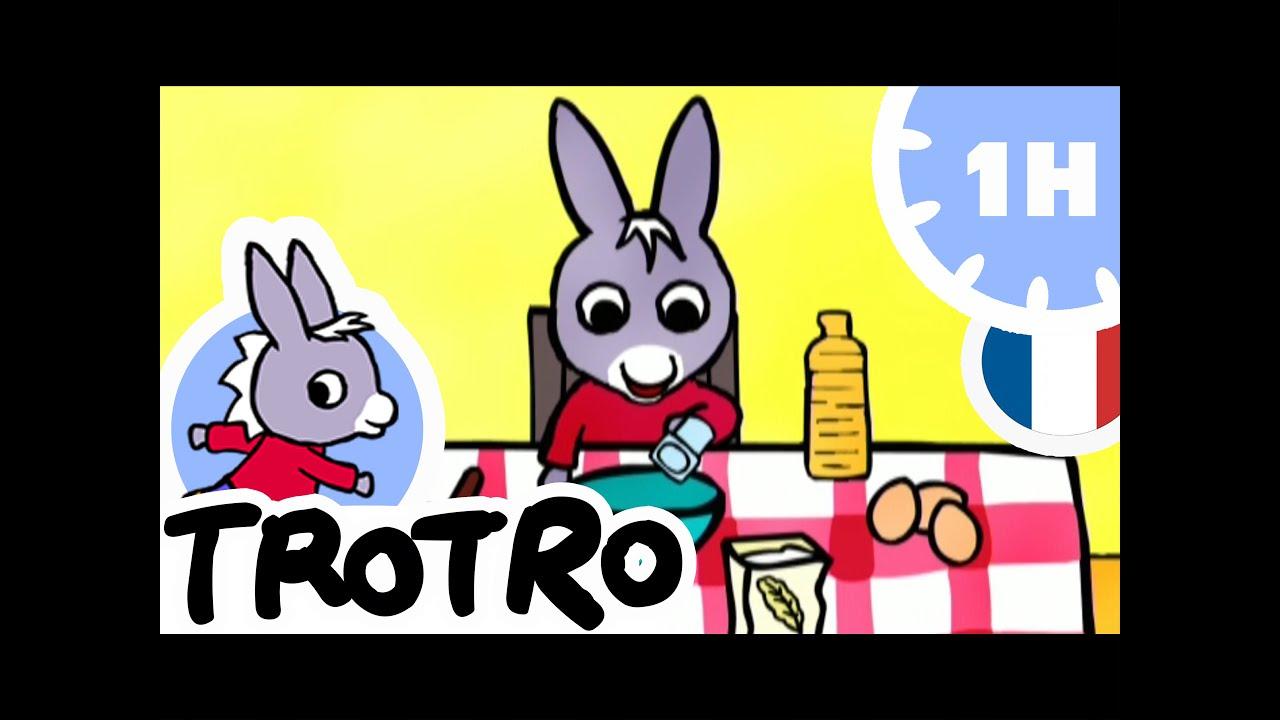 Trotro - 1H - Compilation Nouveau Format Hd ! #07 concernant Nouveau Trotro