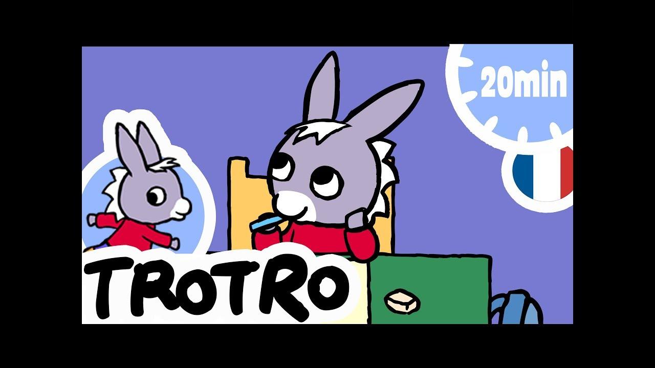 Trotro - 20Min - Compilation #09 avec Doudou Ane Trotro