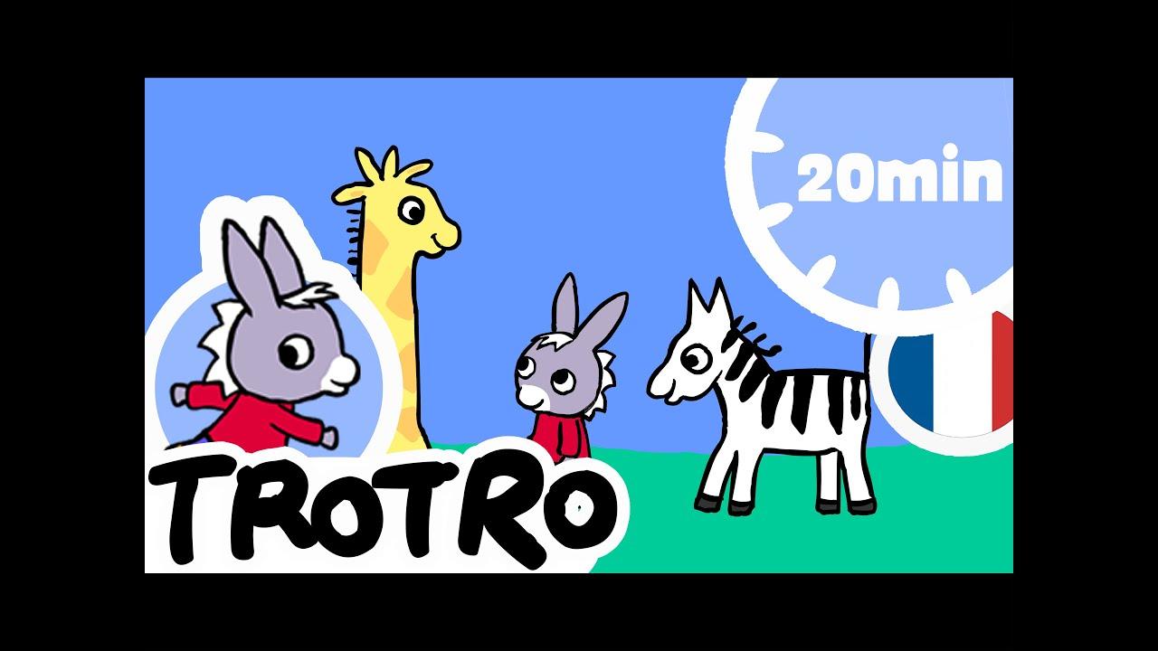Trotro - 20Min - Compilation Nouveau Format Hd ! #13 avec Nouveau Trotro