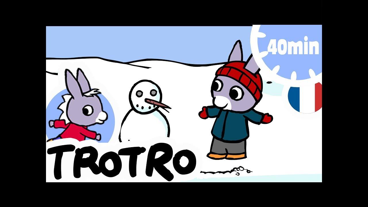 Trotro - 40Min - Compilation #06 avec Dessin Animé De Trotro En Francais Gratuit