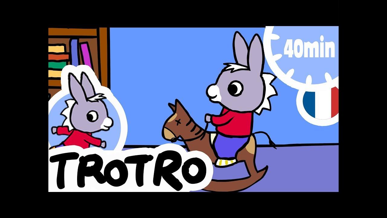 Trotro - 40Min - Compilation #08 avec Dessin Animé De Trotro En Francais Gratuit