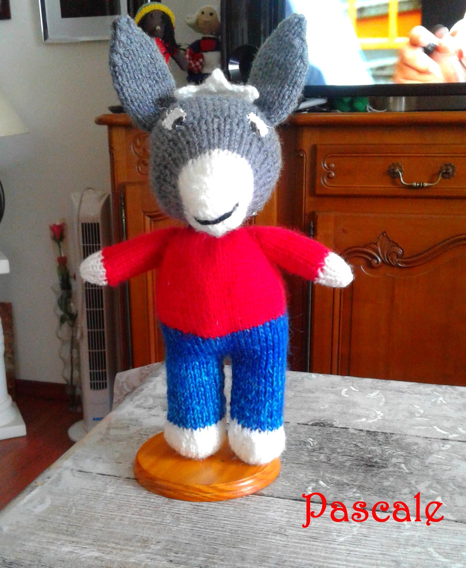 Trotro De Pascale - Tricot Créatif destiné Doudou Ane Trotro