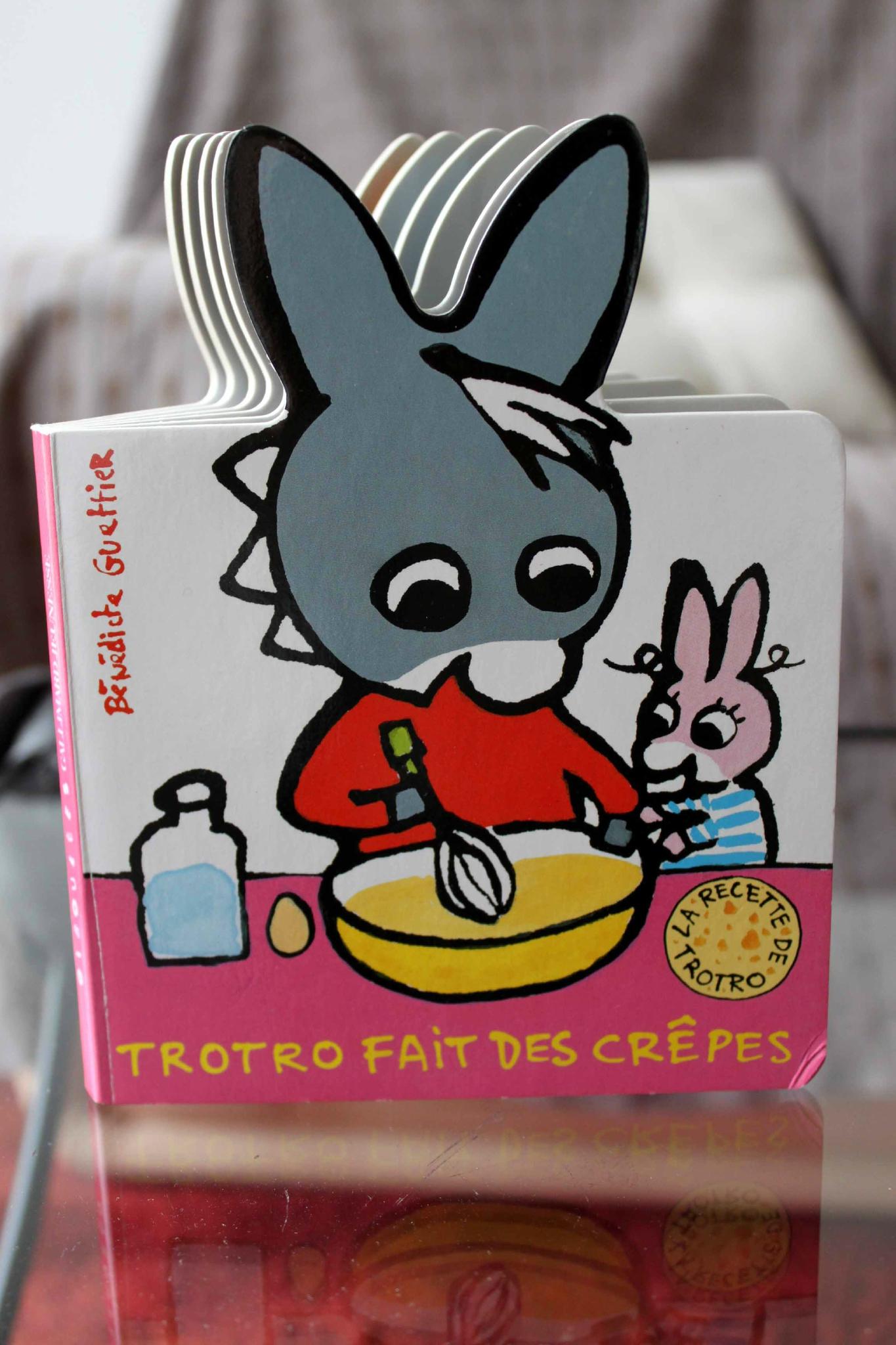Trotro Fait Des Crêpes (Gallimard Jeunesse) - On Lit, On à Nouveau Trotro