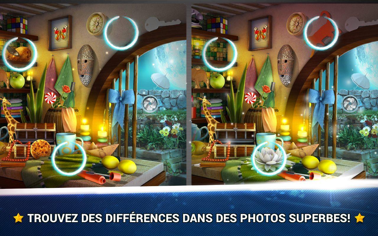 Trouver La Différence Chambres - Jeux Midva Gratuits à Jeux Des Differences Gratuit