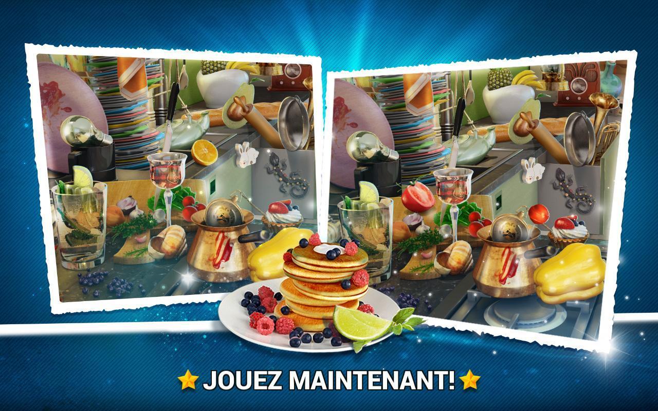Trouver La Différence Cuisine – Jeux Des Erreurs Pour destiné Jeux De Différence