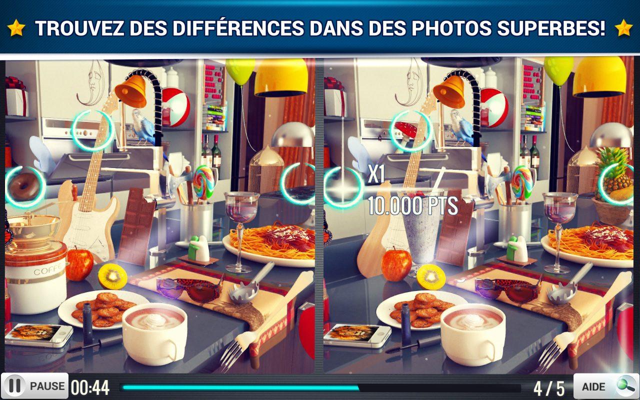Trouver La Différence Cuisine - Jeux Midva Gratuits avec Jeux Des Differences Gratuit