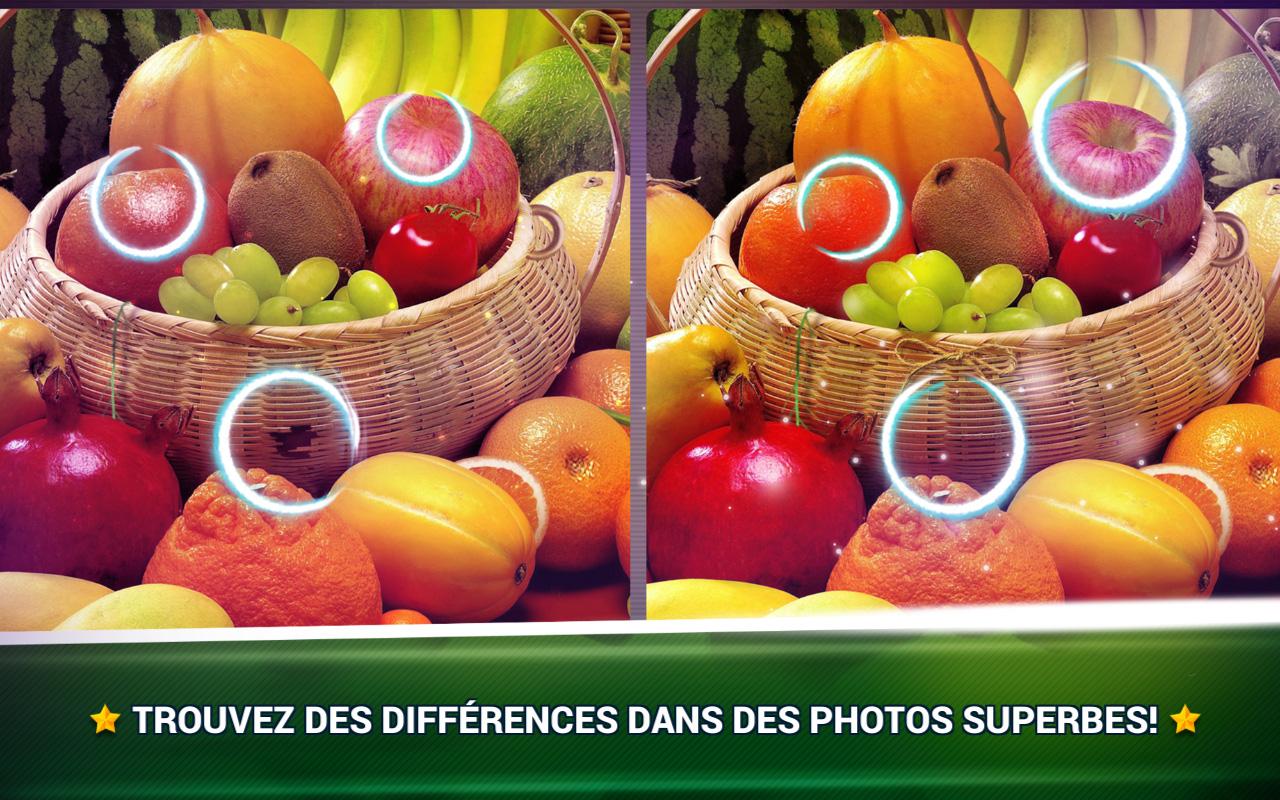 Trouver La Différence Fruits - Jeux Des Erreurs - Jeux serapportantà Jeux Des Differences Gratuit