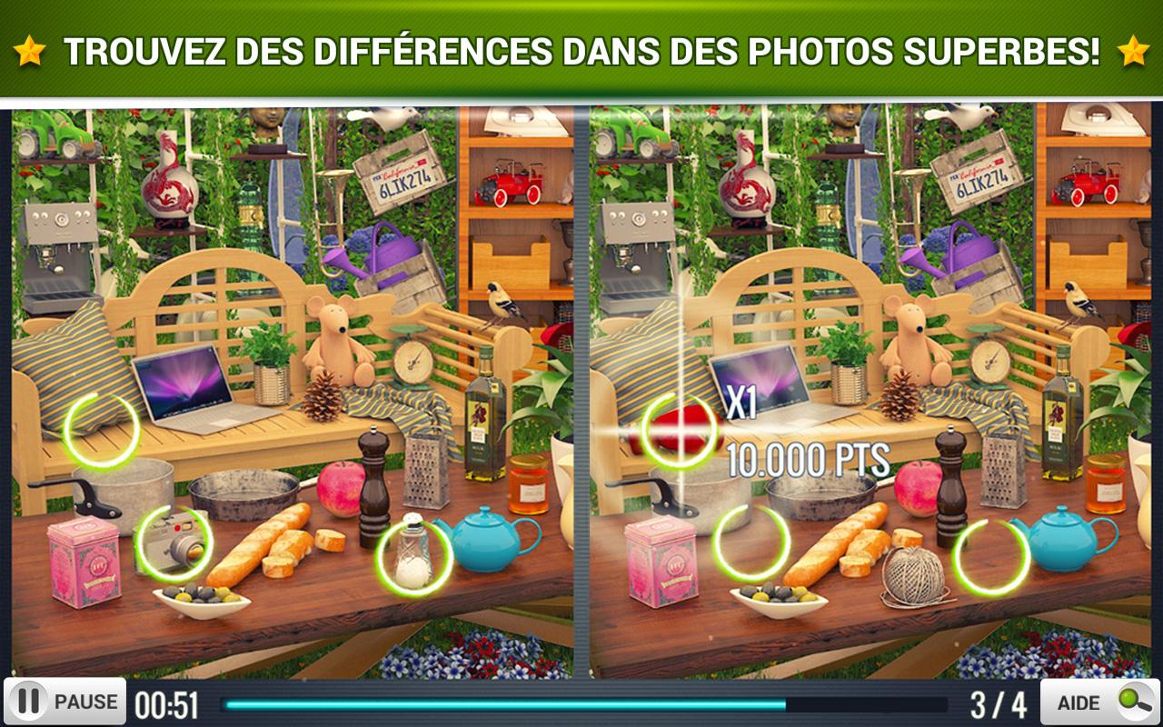 Trouver La Différence Jardin - Jeux Midva Gratuits. avec Jeux De Différence