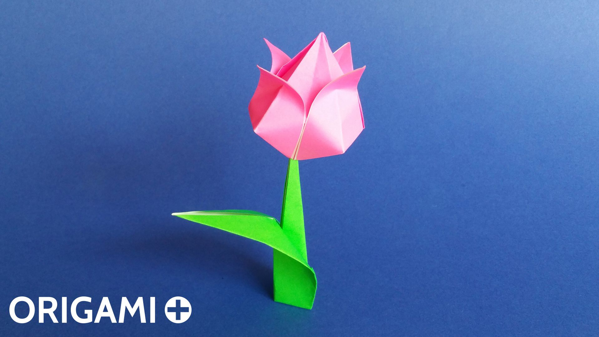 Tulipe En Origami tout Origami Rose Facile A Faire