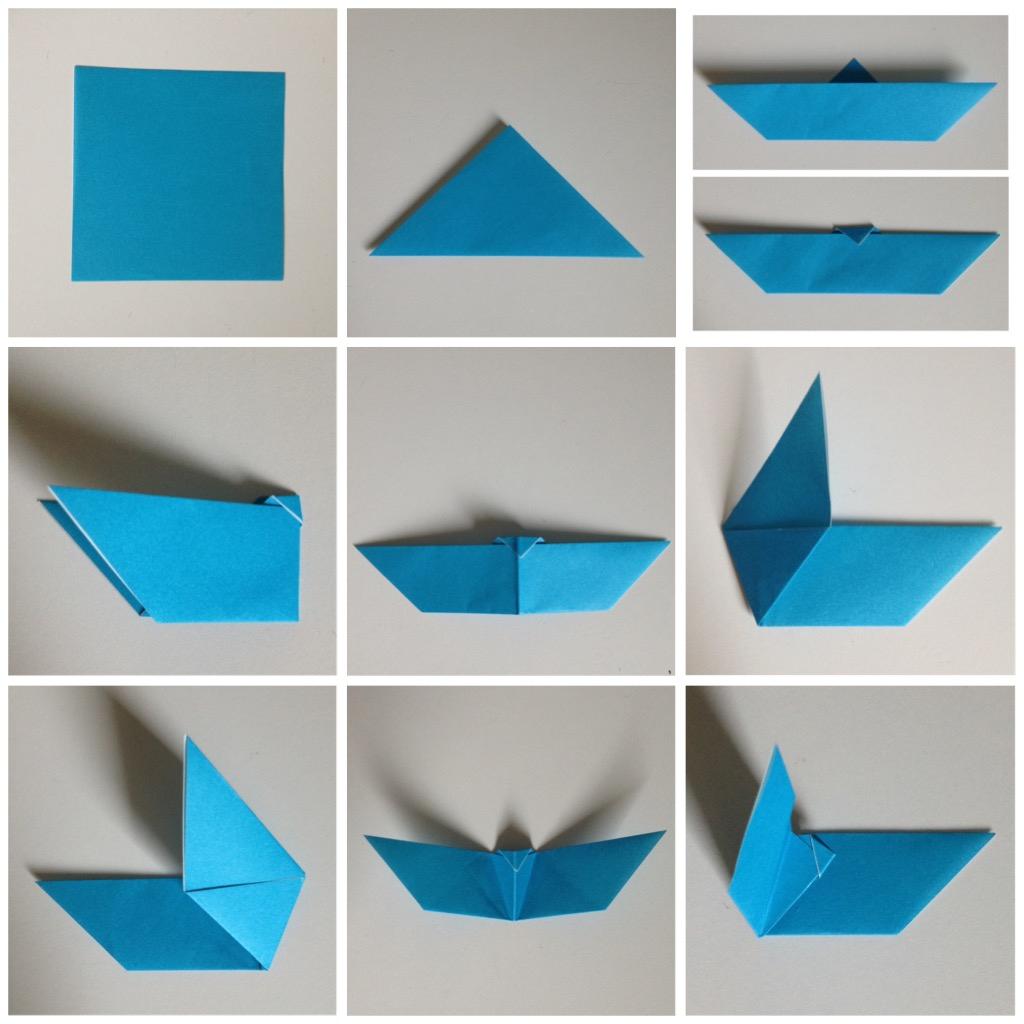 Tuto – Atelier Sameye serapportantà Origami Chauve Souris