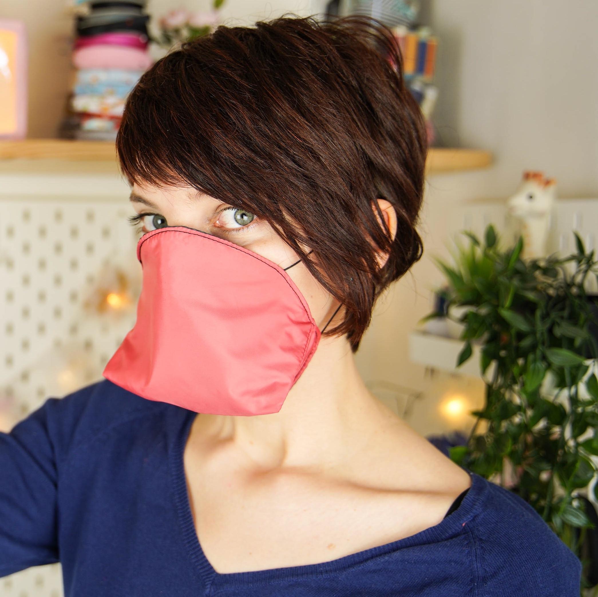 Tuto Couture Masque En Tissu Canard Respiratoire Afnor destiné Masque Canard À Imprimer