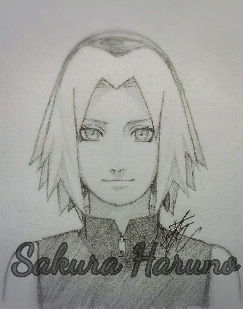 Tuto Dessin : Comment Faire Sakura Haruno 🌸 (Avec Images destiné Coloriage De Naruto Shippuden A Imprimer
