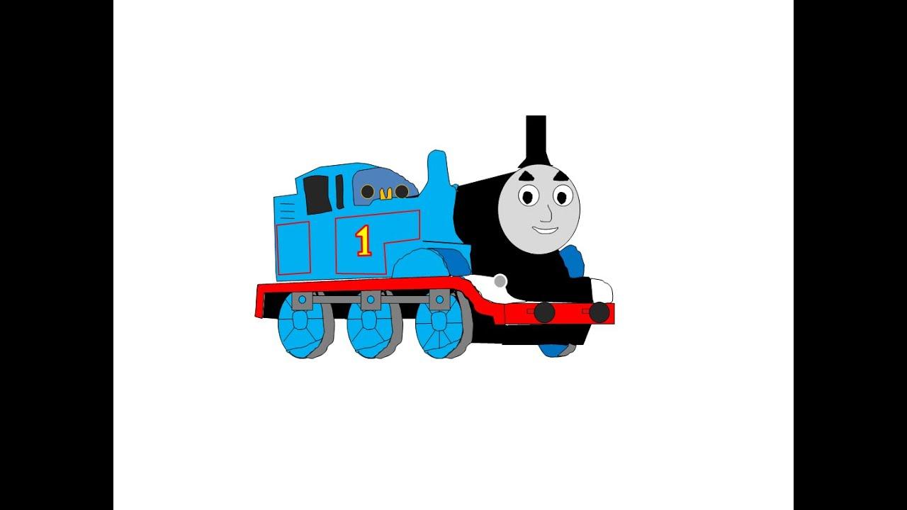 """tuto Dessin"" Thomas Le Petit Train concernant Coloriage Thomas Le Petit Train"