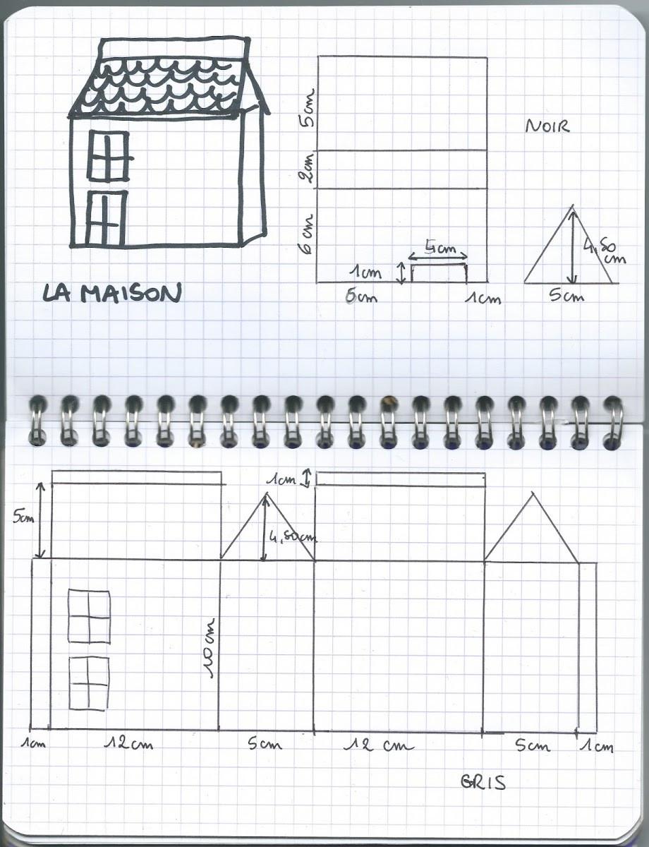 Tuto : Fabriquer Une Maison Hantée Pour Halloween - M6 Deco.fr pour Patron De Maison En Papier A Imprimer
