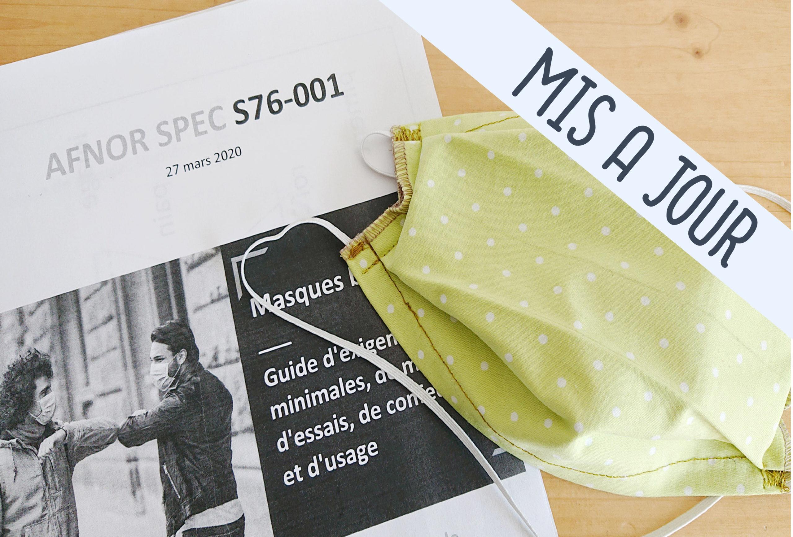 Tuto] Masque En Tissu Selon Le Guide Afnor - L'atelier Des serapportantà Masque Canard À Imprimer