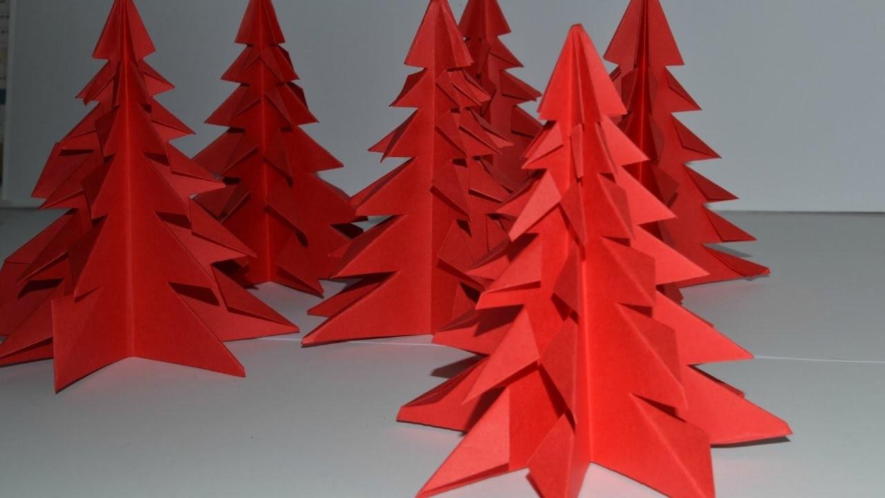 Tuto Origami Sapin De Noel avec Origami Sapin De Noel
