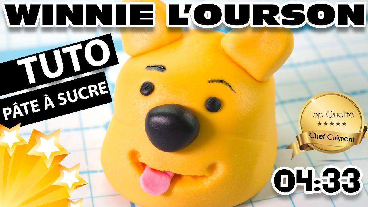 Tuto Pâte À Sucre #1 : Réaliser Un Winnie L'ourson | Cake Design - Chef  Clément dedans Gateau Anniversaire Winnie L Ourson