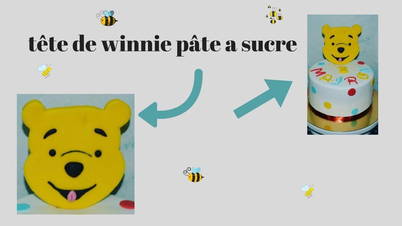 Tuto Winnie L'ourson Pâte A Sucre concernant Gateau Anniversaire Winnie L Ourson