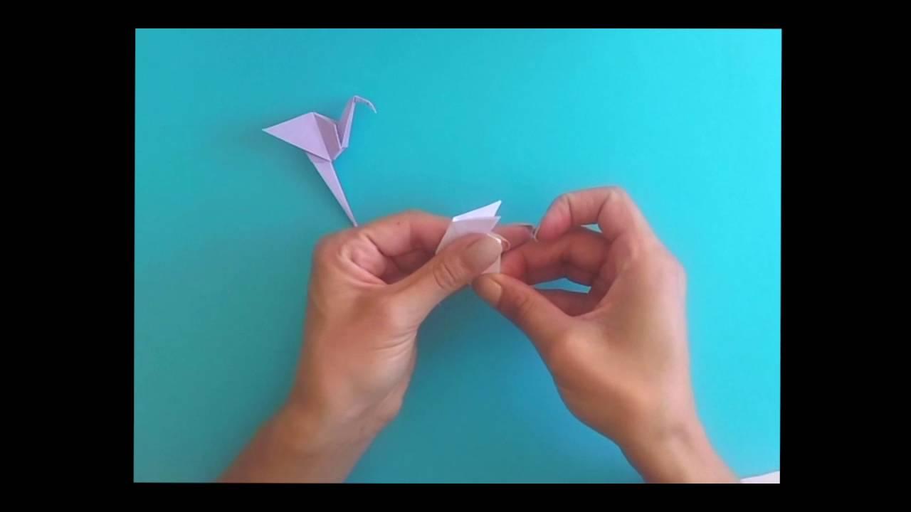 Tutoriel - Origami Flamant Rose * Par Juste Comme Ça destiné Origami Rose Facile A Faire