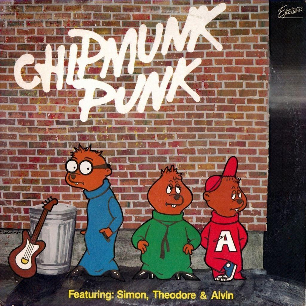 Tv Series And Cartoons Records Chipmunk Punk - Featuring serapportantà Dessin De Alvin Et Les Chipmunks