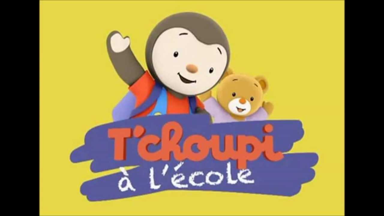 Tv Time - Tchoupi À L'école (Tvshow Time) intérieur Episode Tchoupi