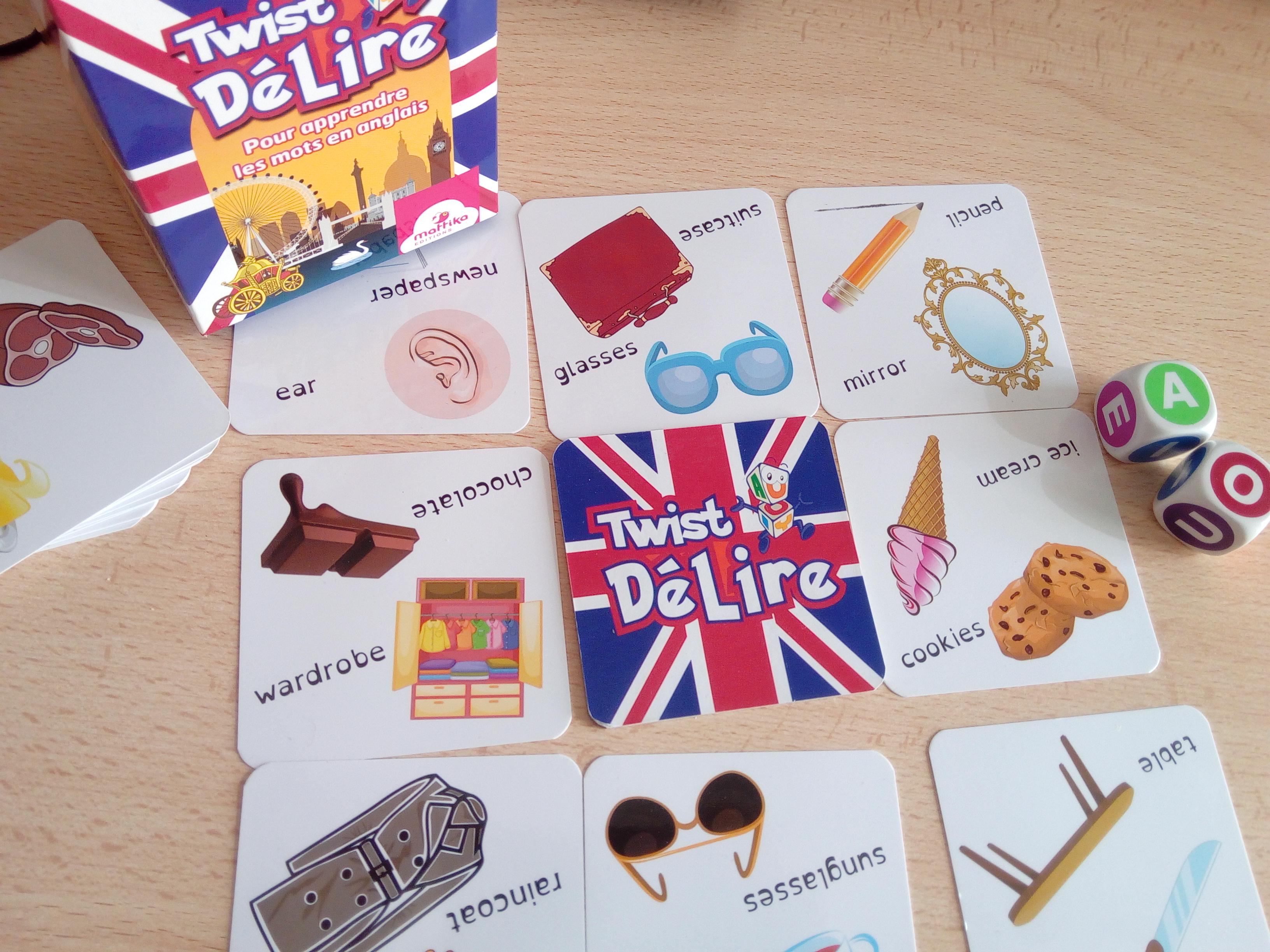 Twist Délire : Un Jeu Progressif Pour Apprendre Des Mots En à Jeux En Anglais Gratuit