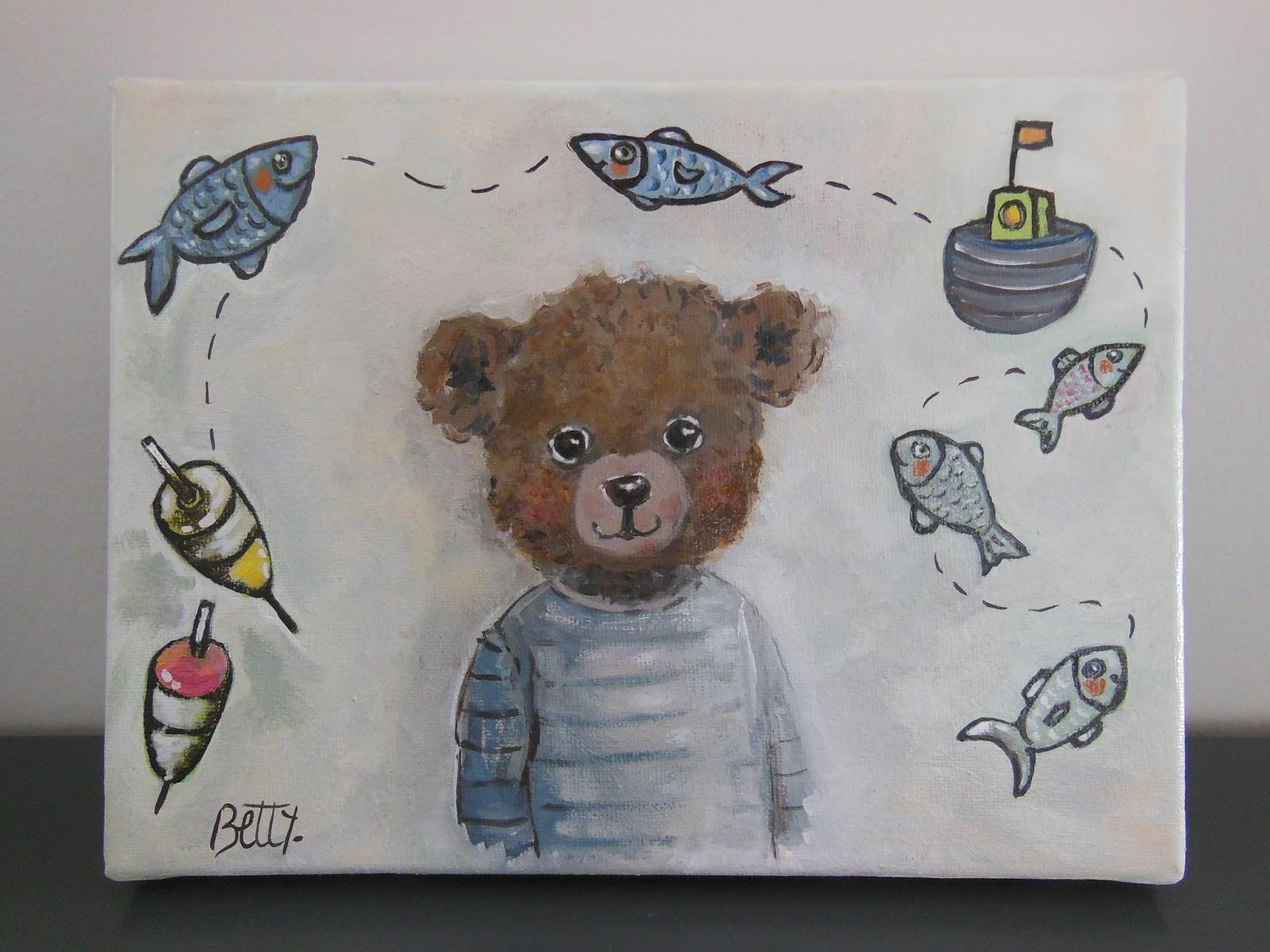 Un Atelier Dans Mon Salon, Blog De Betty- Artiste Peintre Au à Tableau De Peinture Pour Enfant