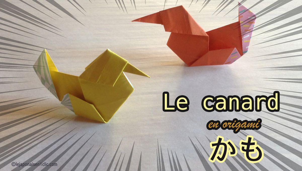 Un Canard En Origami - Le Blog De Ippikicat dedans Origami Canard