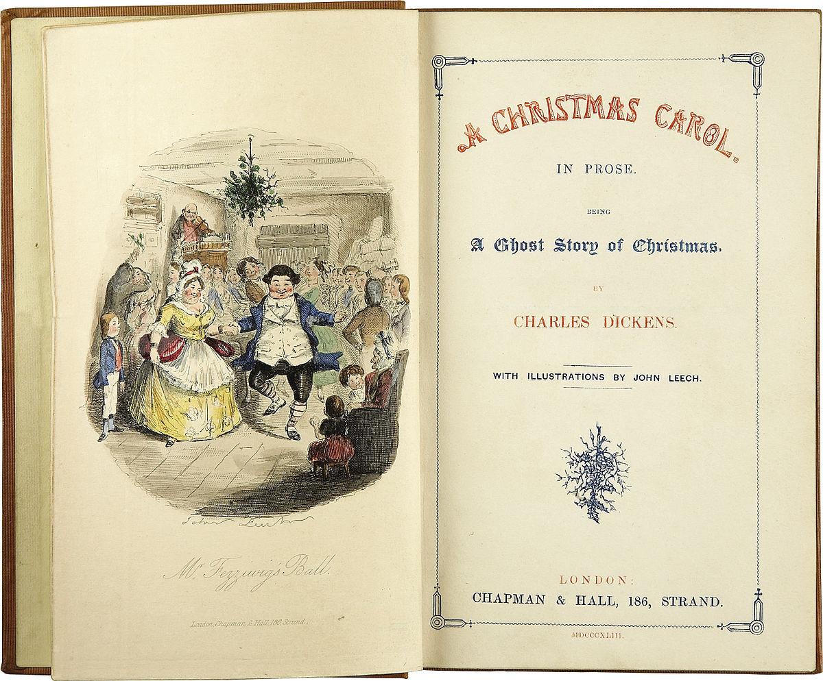 Un Chant De Noël — Wikipédia serapportantà Chanson De Noel Ecrite
