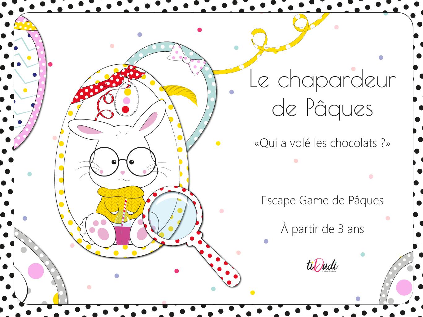 Un Escape Game Pour Pâques Et Pour Les Enfants À Partir De 3 serapportantà Jeux Facile Pour Petit Gratuit