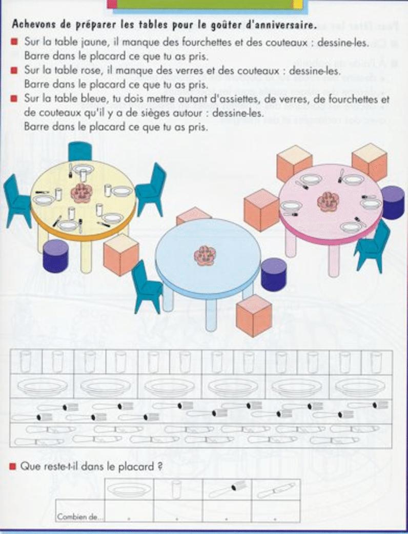 Un Exemple D'exercice Où Prévaut La Fonction Inférentielle destiné Grande Section Maternelle Age