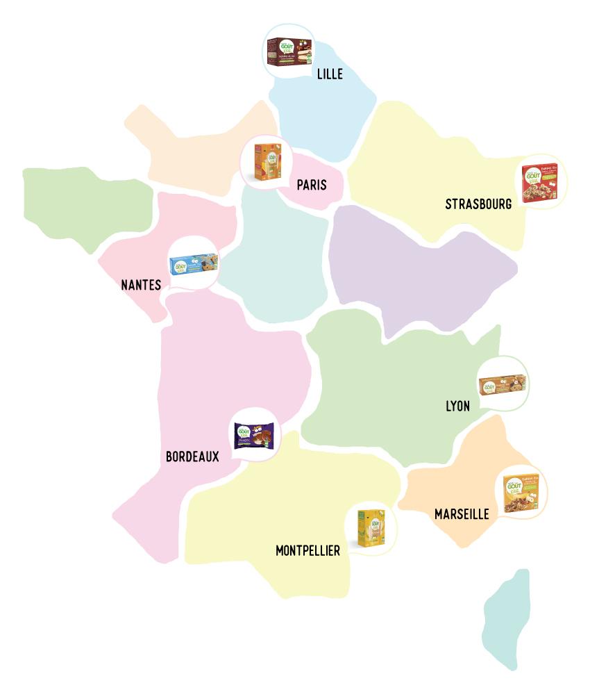 Un Goûter Magique Pour Vos Petits-Enfants - Grand-Mercredi intérieur Carte De France Pour Les Enfants