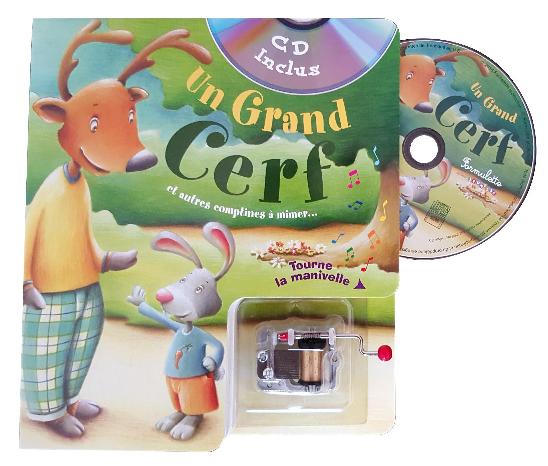 Un Grand Cerf tout Chanson Du Cerf Et Du Lapin
