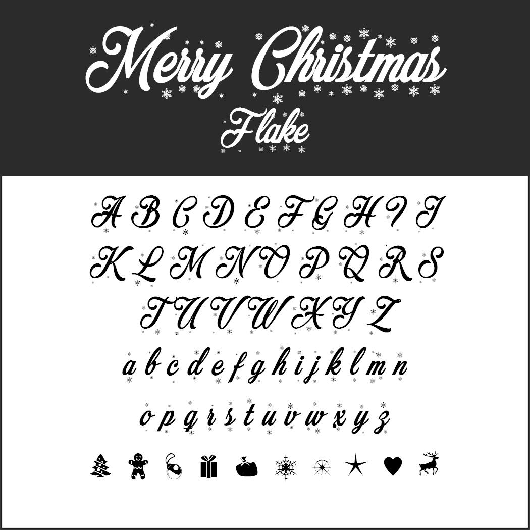 Un Large Choix De Polices D'écriture Pour Noël À Télécharger dedans Police Ecriture Noel