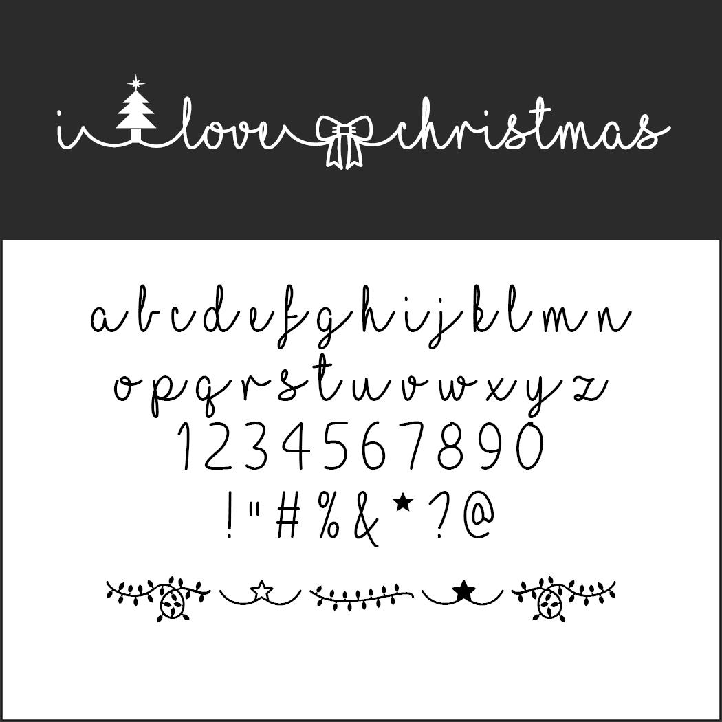 Un Large Choix De Polices D'écriture Pour Noël À Télécharger pour Police Ecriture Noel