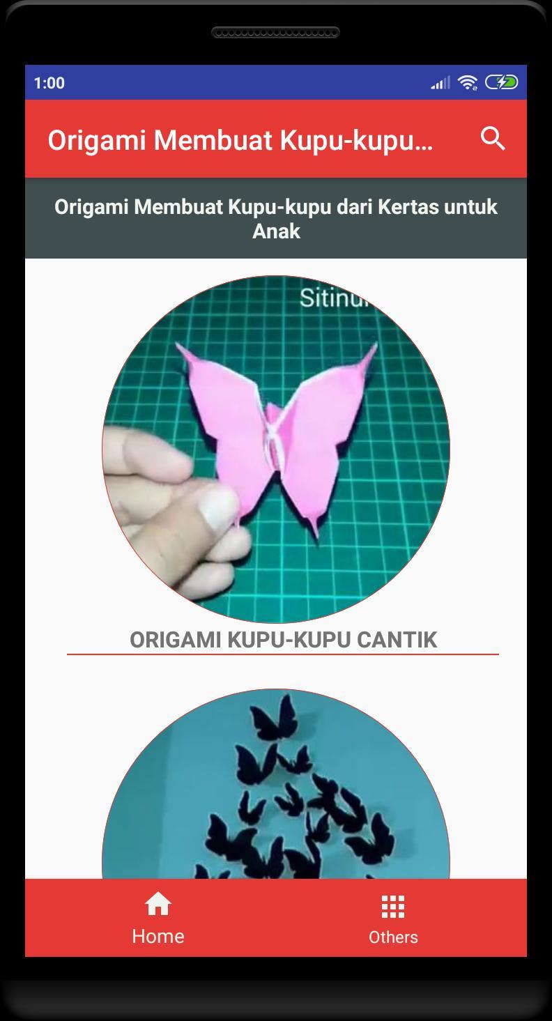 Un Moyen Facile De Faire Des Papillons En Origami Pour intérieur Origami Facile A Faire En Français