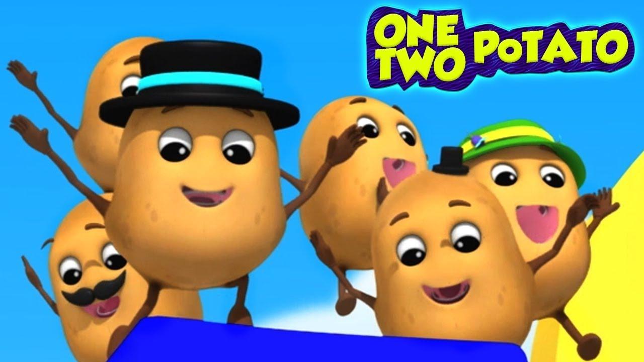 Un Patate Deux Patate | Comptines | Chansons Pour Enfants | 1 Po 2  Po | Baby Box Française tout Chanson De La Patate