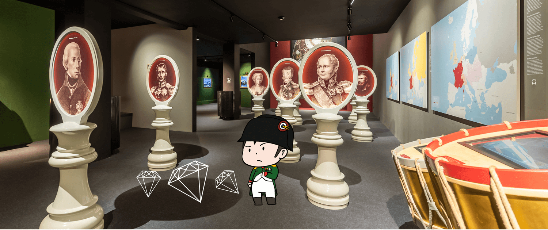 Une Activité Pour Les Enfants Au Musée Du Mémorial De Waterloo à Activité Chasse Au Trésor