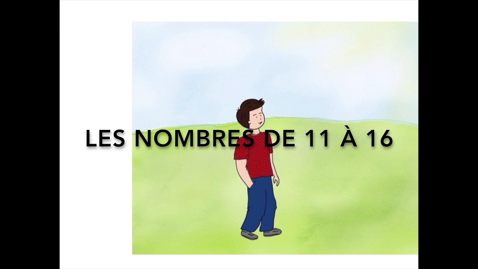 Une Comptine Pour Apprendre Les Nombres De 11 À 16 dedans Chanson Des Chiffres En Français