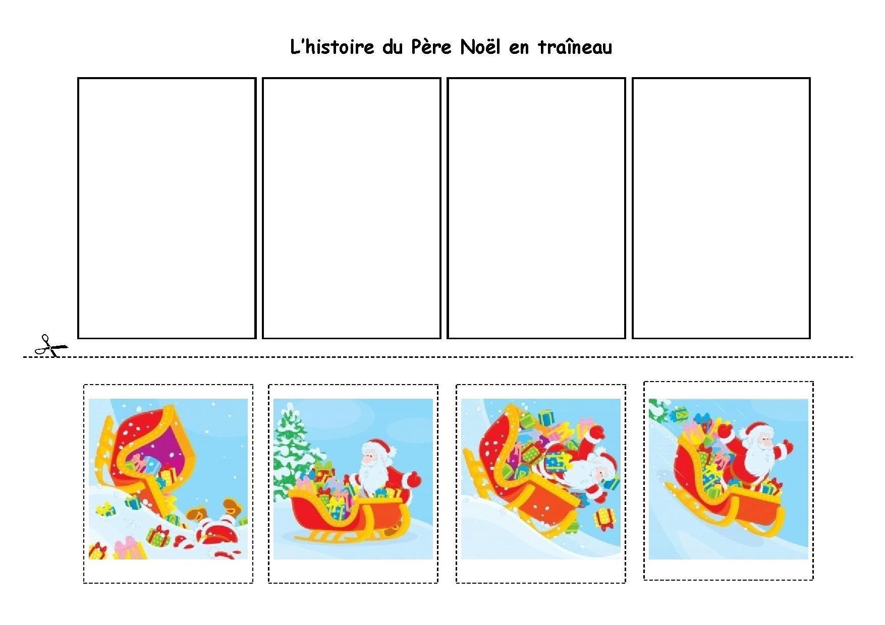 Une Peu Comme A Ecole Histoires avec Images Séquentielles Maternelle