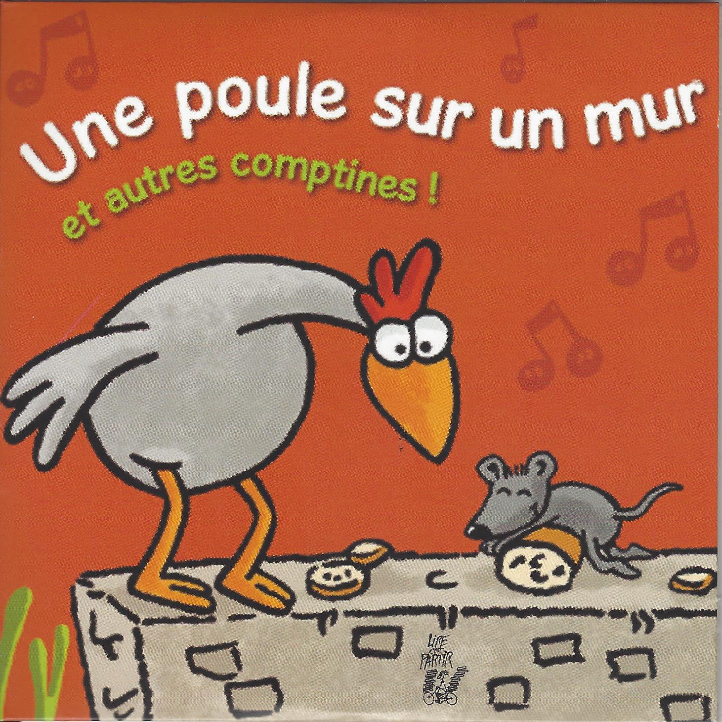 Une Poule Sur Un Mur Cd – Lire C'est Partir destiné Le Petit Ogre Qui Voulait Apprendre À Lire