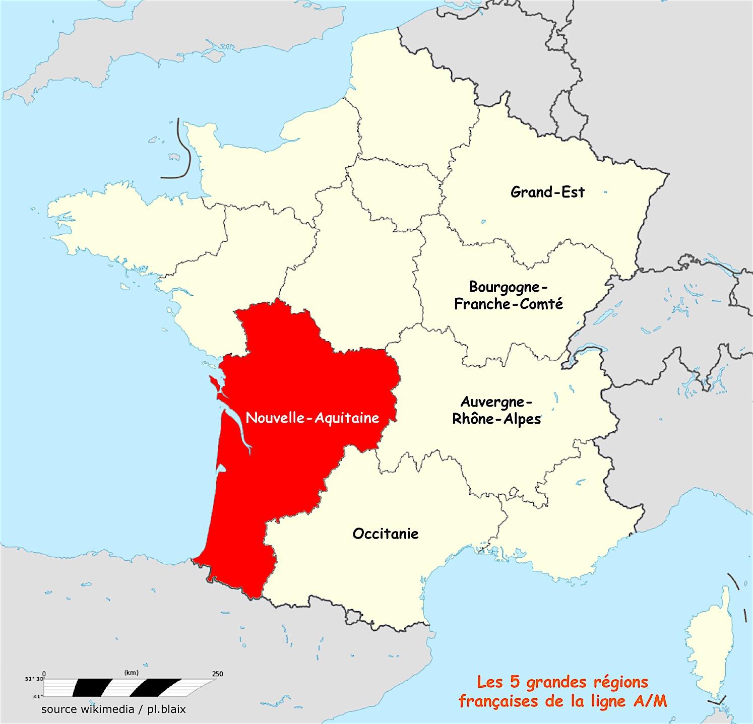 Une Région | Ligne De Partage | Page 16 encequiconcerne Nouvelle Carte Des Régions De France