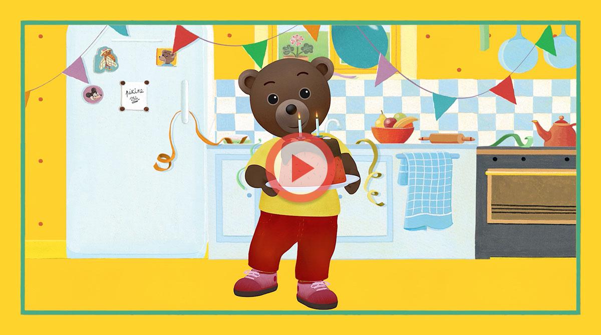 Une Vidéo D'Anniversaire Petit Ours Brun Personnalisée Pour Votre Enfant -  Les Actualités, Nouveautés - Petit Ours Brun dedans Bon Anniversaire Humour Video