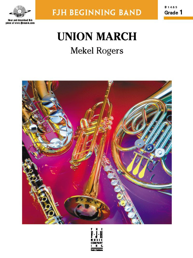 Union March Sheet Music By Mekel Rogers (Sku: B1485 destiné Musique Cirque Mp3