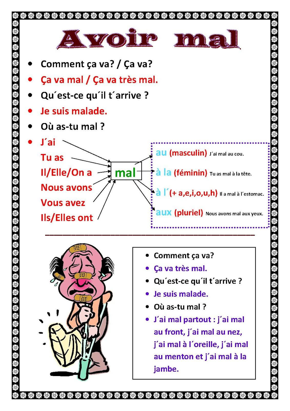 Unterrichtsmaterial Für Französisch In Der Grundschule tout Bonjour Monsieur Comment Ca Va
