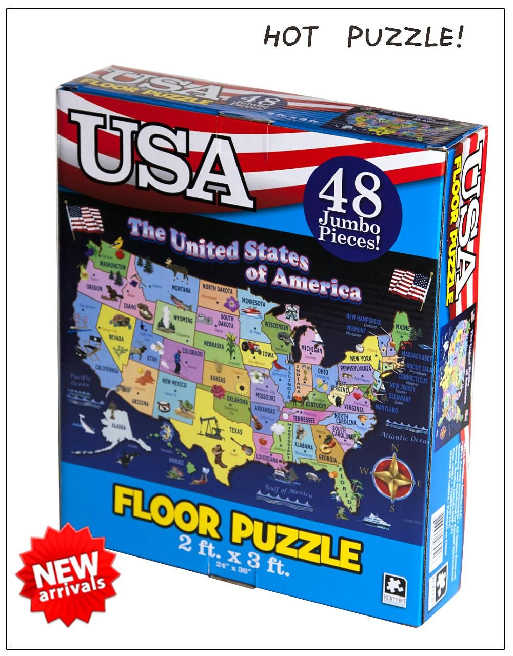 Usa Carte Puzzle Pour Enfants Jouer À Des Jeux De Puzzle Gratuit En Ligne -  Buy Jouer À Des Jeux De Puzzle En Ligne Gratuit,pour Jouer À Des Jeux En concernant Puzzle Gratuit Enfant
