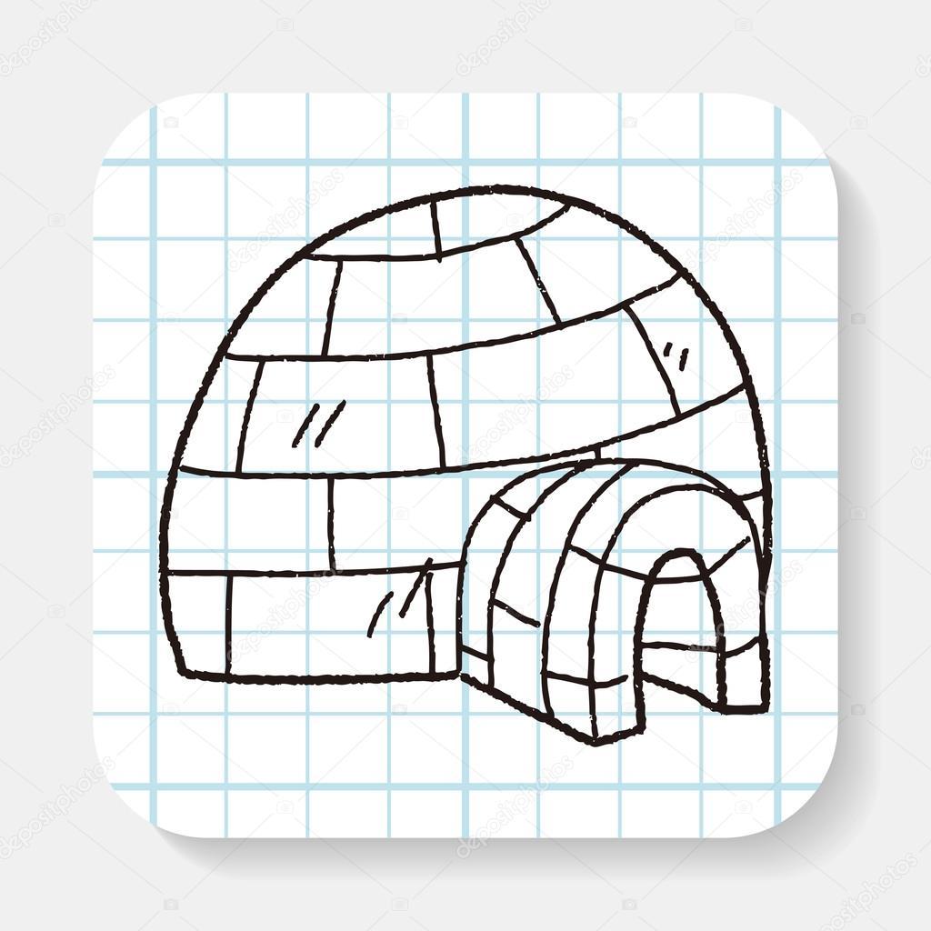 Vecteurs Pour Igloo, Illustrations Libres De Droits Pour pour Coloriage Igloo